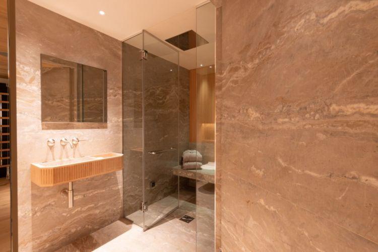 Steam shower room 2